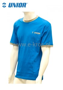 T-shirt męski blue XL Unior